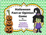 Halloween Fact and Opinion Game