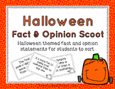 Halloween Fact and Opinion Scoot