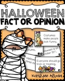 Halloween Fact or Opinion Activity - FREEBIE!