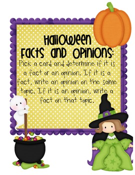 Halloween Facts and Opinions