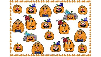 Print and go graphing ! halloween/fall themed