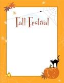 Halloween / Fall / Autumn Border and Clip Art