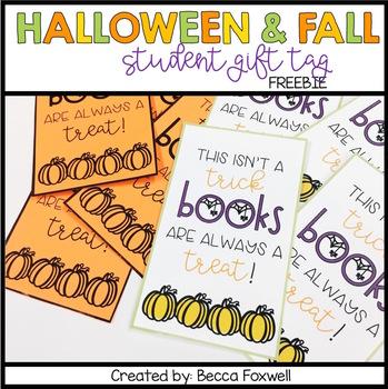 Halloween & Fall Gift Tag FREEBIE