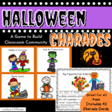 Halloween Charades Brain Breaks or a Fun Activity