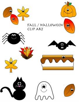 Halloween Fall Clip Art