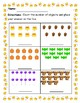 Halloween/Fall Counting Objects and Coloring with Numbers