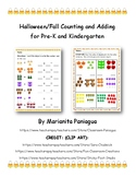 Halloween/ Fall: Counting, Writing, Adding, and Comparing Objects
