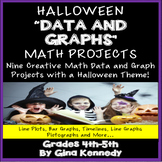 "Halloween Math ""Data and Graphs"" Projects For Upper Elementary Students"