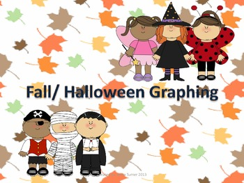 Halloween/ Fall Graphing Game