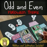Halloween Fall Holiday Odd and Even with Addition and Subt