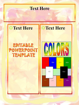 Fall - Interactive PowerPoint  presentation