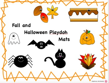 Halloween / Fall Playdoh Mats (Play dough)