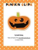 Halloween/ Fall: Pumpkin Glyph