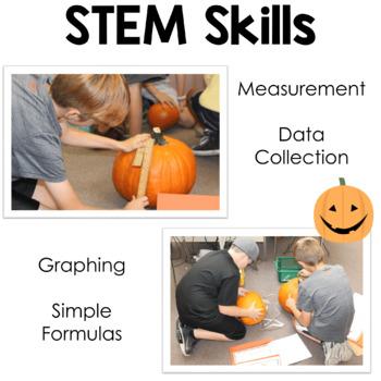 Halloween - Fall STEM Activity Upper Elementary