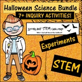 Halloween or Fall Science STEM and Experiment Inquiry Bundle with 7+ activities!