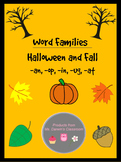 Halloween/Fall: Word Families Bundle