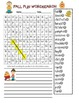 Fall and Thanksgiving Word Search