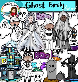Halloween Families Clip Art- 100 images.