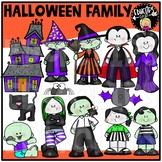 Halloween Family Clip Art Set {Educlips Clipart}