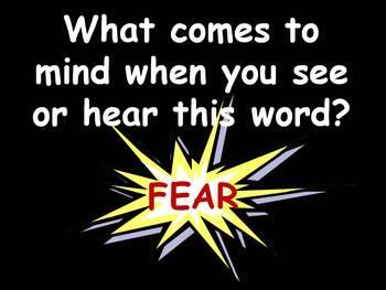 Halloween ~ Fears and Phobias SMARTBoard lesson FREEBIE