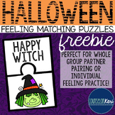 Halloween Feelings Matching Puzzles - Elementary School Counseling
