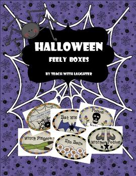 Halloween Feely Boxes {Mini-Unit}
