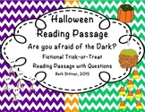 Halloween Fictional Passage