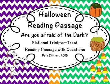 Halloween Fictional Passage