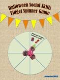 Halloween Fidget Spinner Social Skills Game