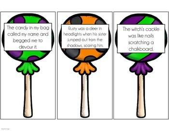 Figurative Language Activity {Halloween}