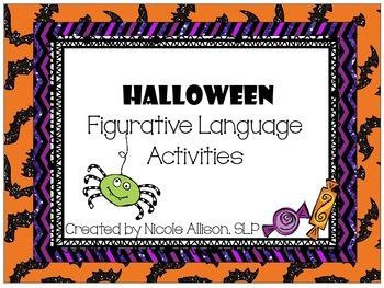 Halloween Figurative Language Activity Pack