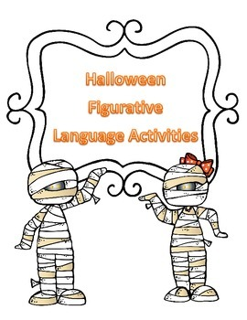 Halloween Figurative Language Activties