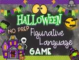 Halloween Figurative Language Game-NO PREP!