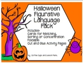 Halloween Figurative Language Interactive Pack