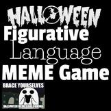 Halloween Figurative Language Meme Game