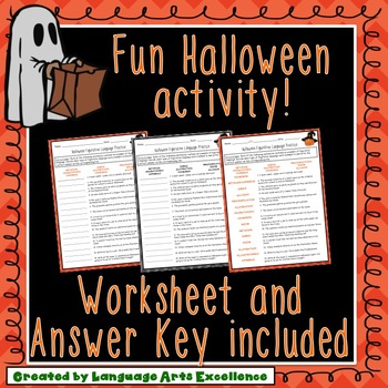 Halloween Figurative Language Practice