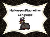 Halloween Figurative Language using Context Clues.