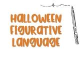 Halloween Figures of Speech