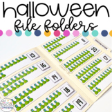 Halloween File Folder Activities for Special Education