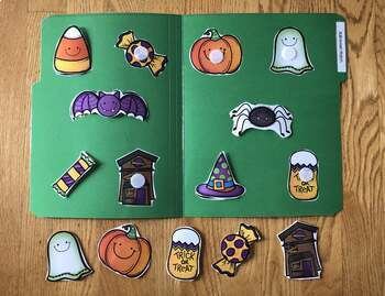 Halloween File Folders