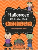 Halloween Poetry (Parts of Speech)