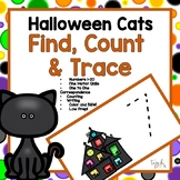 Halloween Find, Count & Trace Math Center for Preschool, PreK, K & Homeschool