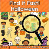Halloween Find it Fast Card Game