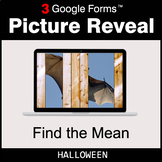 Halloween: Find the Mean - Google Forms Math Game | Distan
