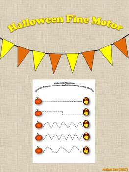 Halloween Fine Motor