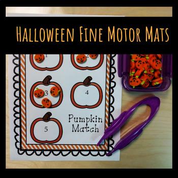 Halloween Fine Motor Mats
