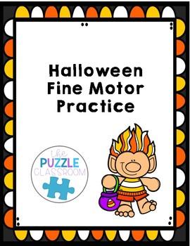 Halloween Fine Motor Practice