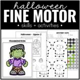 Halloween Fine Motor Practice Skills and Activities