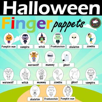 Halloween - Finger Puppets