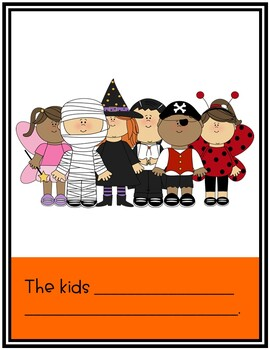 Halloween Finish The Sentences No-Prep Activity